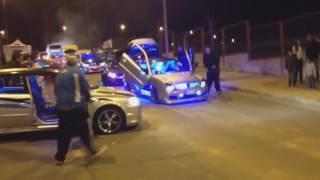 DESFILE DE LOS MEJORES  AUTOS CON MUSICA A TODO RITMO