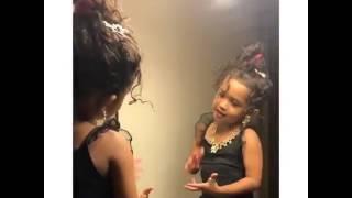 Royalty  Chris Brown daughter singing