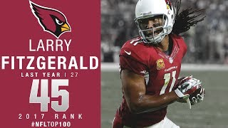 #45: Larry Fitzgerald (WR, Cardinals) | Top 100 Players of 2017