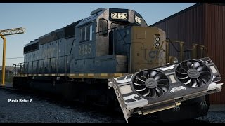 Train Sim World: CSX Heavy Haul (Public Beta): GTX 1070 Max Settings Test