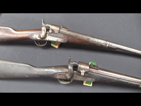 Joslyn M1862 and M1864 Carbines at RIA