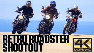 2017 Retro Roadster Shootout | 4K