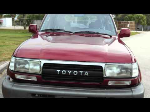 1991 Toyota FJ80 Land Cruiser 80 Series