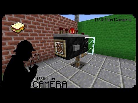 ✔ Minecraft How to make a Film & TV Camera