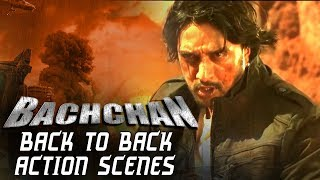 Bachchan Back To Back Action Scenes | South Indian Hindi Dubbed Action Scenes