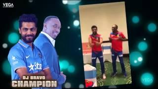 Ravindra Jadeja With Dwayne Bravo Dance On Dj Bravo Champion Song