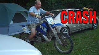 Dirt Bike Crashes Wrecks & Fails 2017