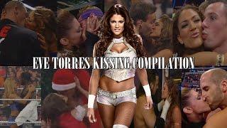 Eve Torres WWE Kissing Compilation
