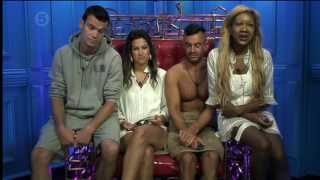 Big Brother Day 37 (Sat 20 July 2013)