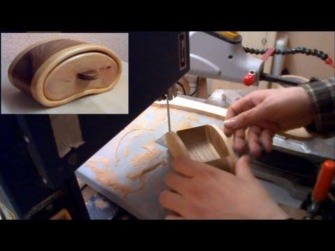 How to make a Bandsaw Box Schmuckkästchen mit der Bandsäge woodworking