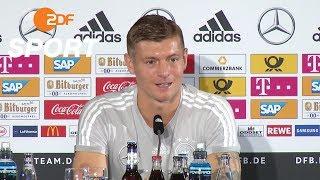 DFB-Pressekonferenz mit Kroos und Löw - 05.09.2018 | UEFA Nations League - ZDF