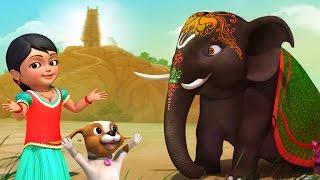 அழகர் ஆனை | Tamil Rhymes for Children | Infobells