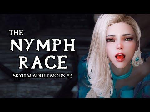 Xxx Mp4 SKYRIM ADULT MODS 6 The Nymph Race Of Skyrim 3gp Sex
