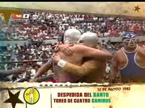 La Lucha Se Hizo Despedida del Santo 12 de septiembre de 1982