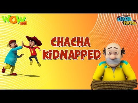 Chacha Kidnapped - Chacha Bhatija - Wowkidz - 3D Animation Cartoon for Kids - As seen on Hungama TV