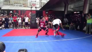 Derrick Rose in Japan - vs Takaki Ishida (Japanese pro basketball player)