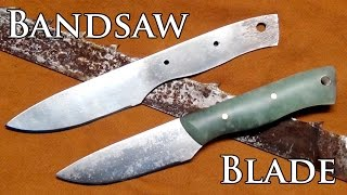 How to Make a Knife From a Bandsaw Blade