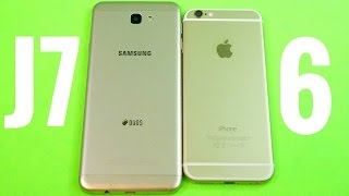 Samsung Galaxy J7 Prime vs iPhone 6!