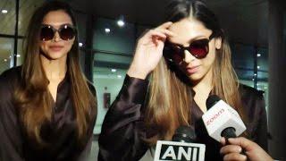 Deepika Padukone Return Back In Mumbai Spotted At Aiport