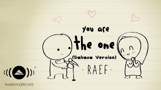 Raef - You Are The One (Bahasa Version) | Official Lyric Video