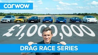 £1M DRAG RACE series for our one million subscribers   carwow