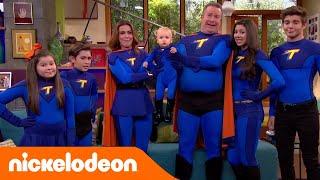 I Thunderman | Foto di famiglia con Chloe | Nickelodeon