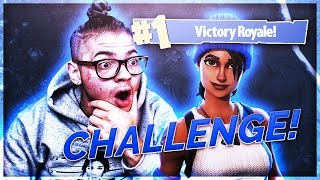 NO COMMUNICATION DUO CHALLENGE! YOU WONT BELIEVE HOW HARD IT WAS! DID WE WIN FORTNITE BATTLE ROYALE!