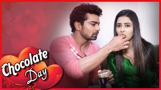 Aryan Gives Chocolates To Aradhya | Chocolate Day | Valentine's Week Special
