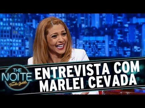 The Noite 02 07 15 Entrevista com Marlei Cevada