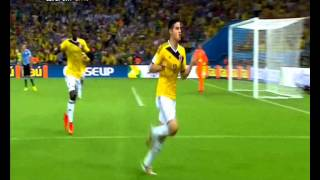 2014 World Cup rd of 16: Colombia v Uruguay