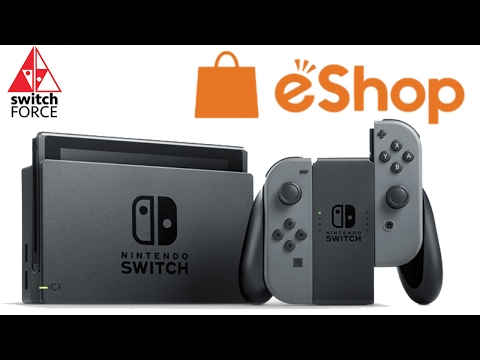 Switch eShop Downloads OFFICIALLY Tied To Your Account!!