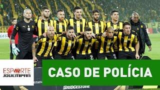 Jogadores do Peñarol terão de se explicar à polícia após briga