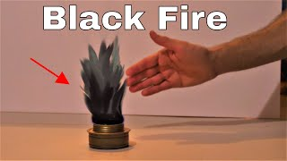 Amazing Experiment Actually Makes Black Fire! The Shadow Fire Experiment