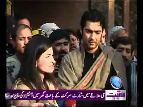 Pakistani Tennis Star Aisam Ul Haq visits Shaukat Khanum Memorial Cancer Hospital