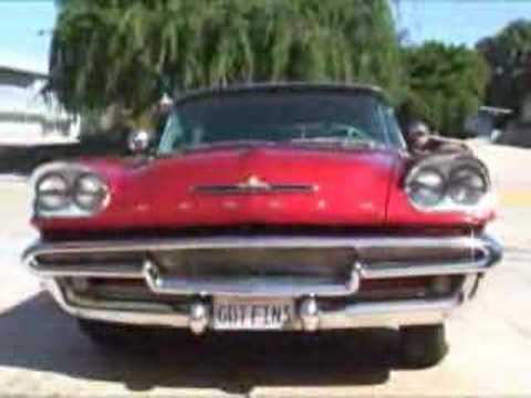 DeSoto 1958 Firedome biggest fins made