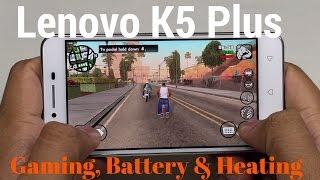 [हिन्दी] लिनोवो वाइब के5 प्लस विस्तृत गेमिंग, बैटरी और हीट रिव्यू