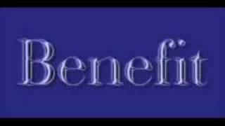 Benefit - friends