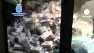 Spagna: maxi- sequestro di denaro da riciclare