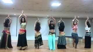 Beginners belly dance performance on (DIDI)choreo by Payal Gupta