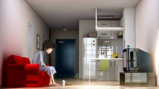 Crazy Alarm Clock Animation