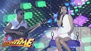 Alex Gonzaga sings 'Panaginip Lang' on It's Showtime