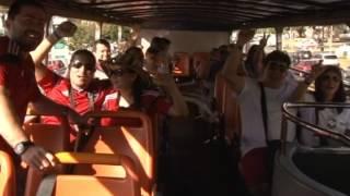Passeio em ônibus de dois andares vira sensação em Brasília