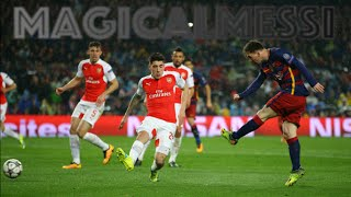 Lionel Messi - One Touch Finish - Top 20 Goals - HD