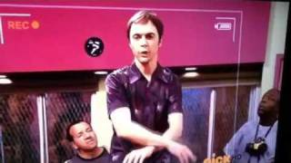 Jim parsons as Caleb on icarly saying funny things