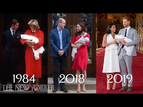 Royal Births Then and Now Princess Diana Kate Middleton and Meghan Markle The New Yorker