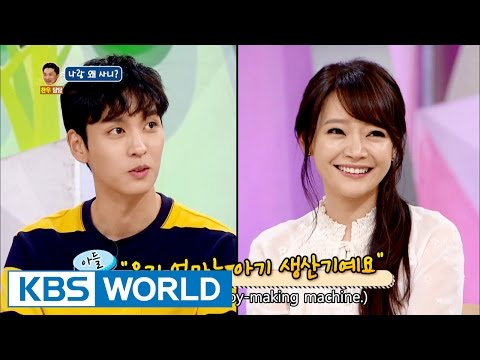 Why do you live with me [Hello Counselor / 2016.09.26]