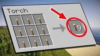 SABÍAS TODO ESTO DE LAS ANTORCHAS DE Minecraft? | VIDEO DE MINECRAFT