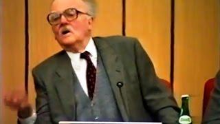 Carlo Dionisotti: incontro con un maestro della letteratura - Novara 11 aprile 1995