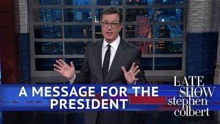Stephen Unbuttons Trump