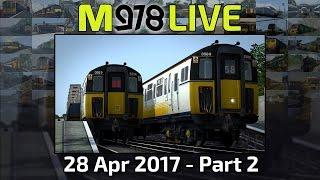 Summer Slammers! | Train Simulator 2017 | M978 Live
